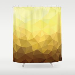 Golden Luxury Shower Curtain