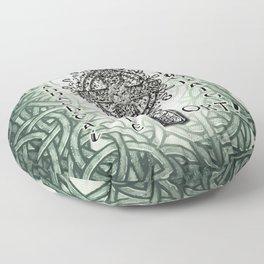 Beannachtaí na Féile Padraig Ort Floor Pillow
