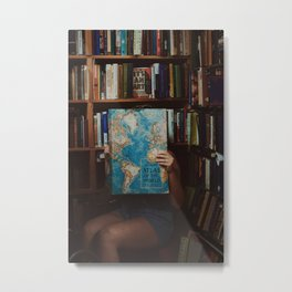 Bookshop, Gloucester MA Metal Print