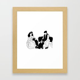 GERTIE Framed Art Print