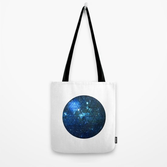 Star Geodesic Tote Bag