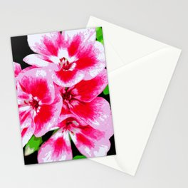 Flower | Flowers | Mod Pink Petals Stationery Cards