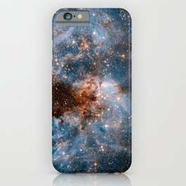Into The Storm, Galaxy Background, Universe Large Print, Space Wall Art Decor, Deep Space Poster iPhone Case