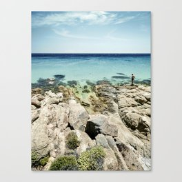 The Man and the Sea Canvas Print
