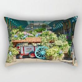 Covent Garden Flowers Rectangular Pillow