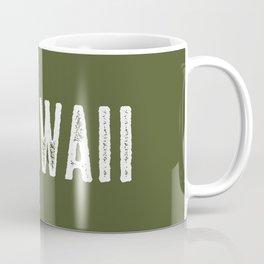 Deer: Hawaii Coffee Mug