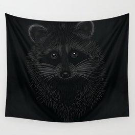 Raccoon Totem Animal Wall Tapestry