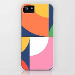 Abstract Geometric 17 iPhone Case