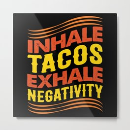 Taco Metal Print