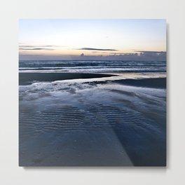 Blue Call of the Sea Metal Print