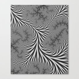Silvery Canvas Print