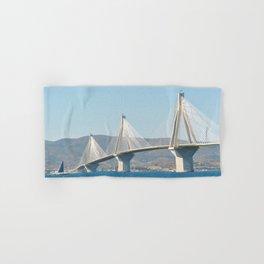 Rio Antirrio Bridge Hand & Bath Towel