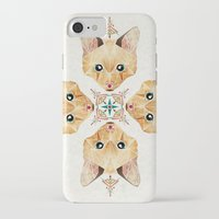 kitten iPhone & iPod Cases featuring kitten by Manoou