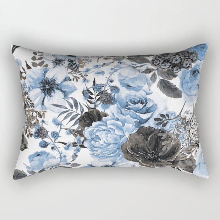 Floral Pattern#4 Rectangular Pillow