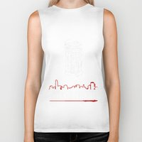 gangster Biker Tanks featuring American gangster by Christophe Chiozzi