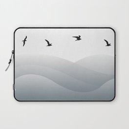 Ocean Birds Laptop Sleeve