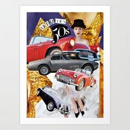 Fabulous Fifty's Art Print