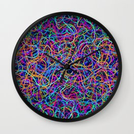 Scribble Synapse Wall Clock