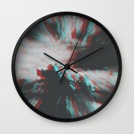 Cloudophobia Wall Clock
