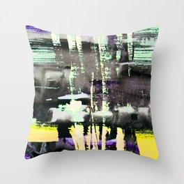 Smoke Screen Throw Pillow