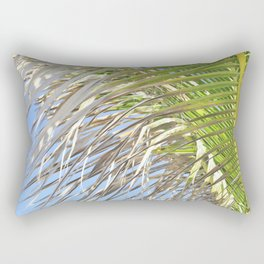 Under the Palm Tree Rectangular Pillow