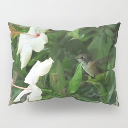 Lady Lurking in the Shade Pillow Sham