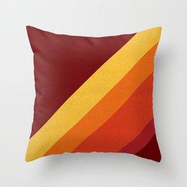 Retro 70s Color Palette II Throw Pillow
