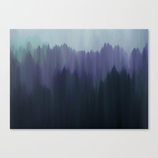 Cold Night Canvas Print