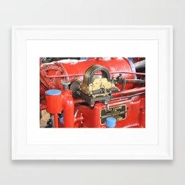 Titan Engine - International Harvester Corporation. Chicago USA Framed Art Print