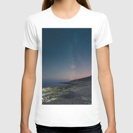 The Milky Way over Duncan's Cove T-shirt