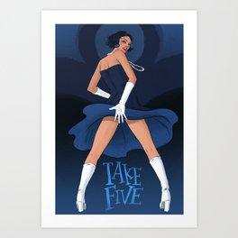 Take Five Art Print