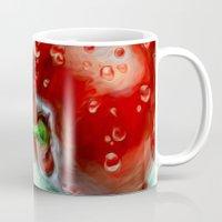 cherry Mugs featuring Cherry by Kristin Frenzel