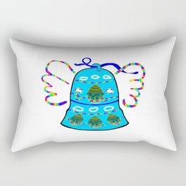 Winged Bell Rectangular Pillow