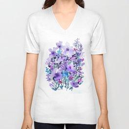 Lavender Thicket Unisex V-Neck