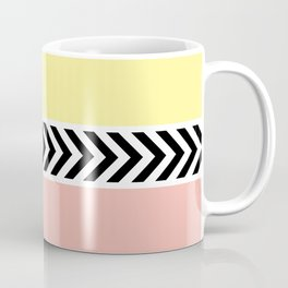 Black and white arrows Coffee Mug