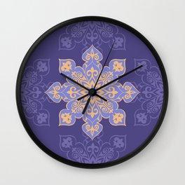 Floral Ethnic Ornament  Wall Clock