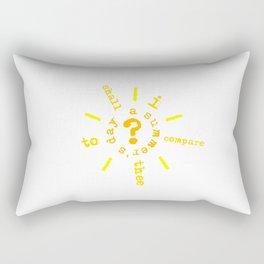 summer's day Rectangular Pillow