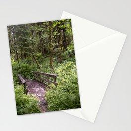 Emerald Forest Bridge Stationery Cards