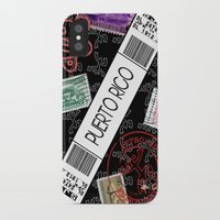 puerto rico iPhone & iPod Cases featuring Welcome to Puerto Rico by Barney Ortiz