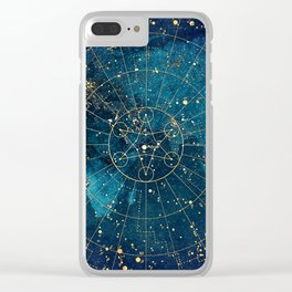 Star Map :: City Lights Clear iPhone Case