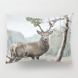 Mystical Deer Pillow Sham