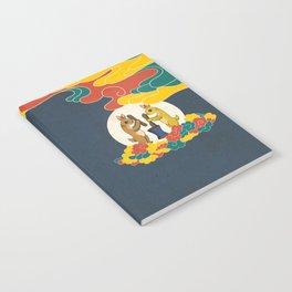 Minhwa: Moon Rabbit B Type (Korean traditional/folk art) Notebook