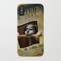 monkey island iPhone & iPod Cases featuring Monkey Island - WANTED! Spiffy, the Scumm Bar dog by Sberla