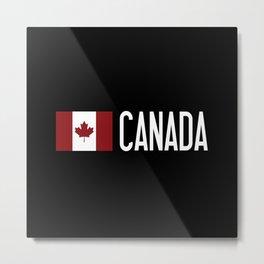 Canada: Canadian Flag Metal Print