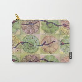 Ribbon Pattern Carry-All Pouch