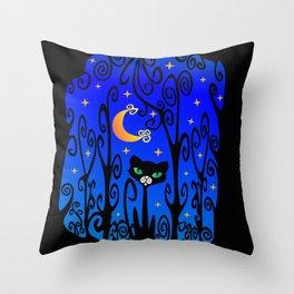 ✨ ✧ The Cat 🐈 Throw Pillow