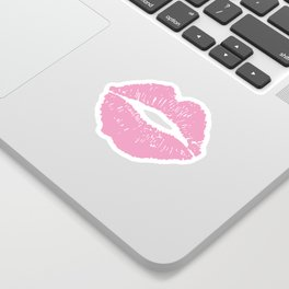 Light Pink Lips Sticker