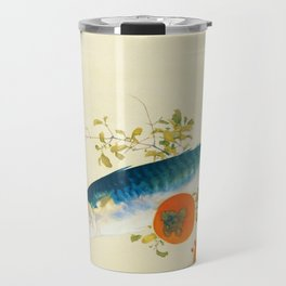 12,000pixel-500dpi - Takeuchi Seiho - Autumn Fattens Fish and Ripens Wild Fruits - Digital Remaster Travel Mug
