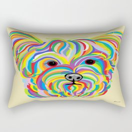 Yorkshire Terrier - YORKIE! Rectangular Pillow