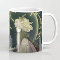 shield Mugs featuring Pollen Shield by Cruz'n Creations